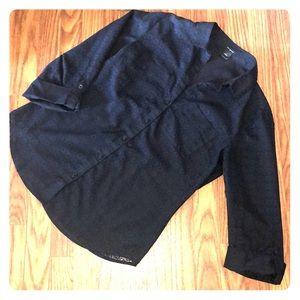 Ann Taylor Lace Button Down Dress Shirt - Size 2